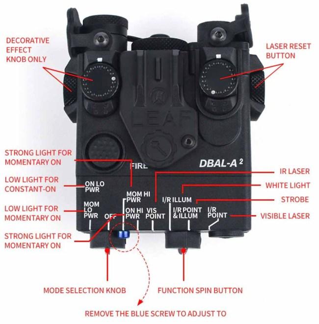 WADSN PEQ Mini DBAL-A2