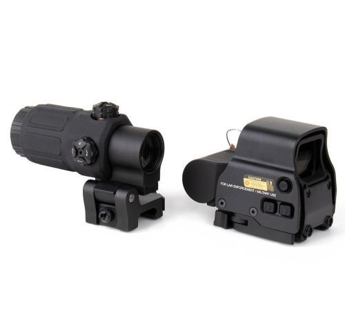 G33 3X Magnifier + 558 Red Dot Set