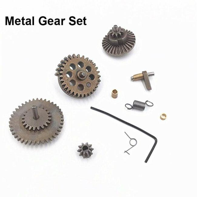 JM P90 M249 SLR HK416 Metal/Nylon Gears Set