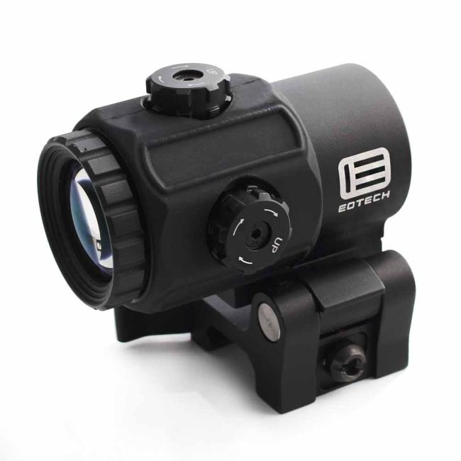 G43 3X Magnifier Scope Sight with Switch-to-Side Mount