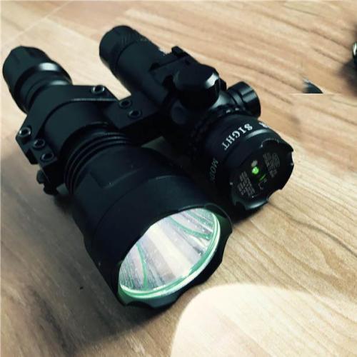 Jinming M4 STD Green Laser with Flashlight