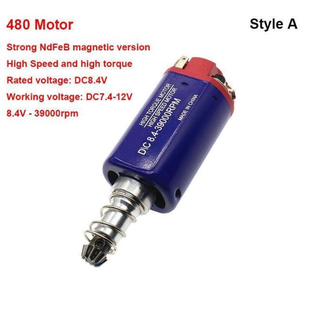 Long Axis 480 High Speed Torque CH Motor