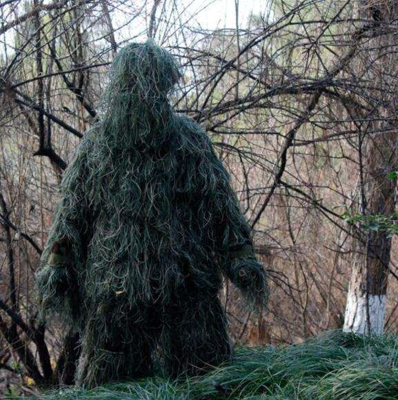 Camouflage Sniper Ghillie Suit