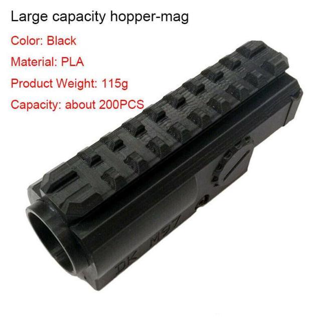 M97 Gear Parts Hopper Hop Up Buttstock Darts Shell Handguard