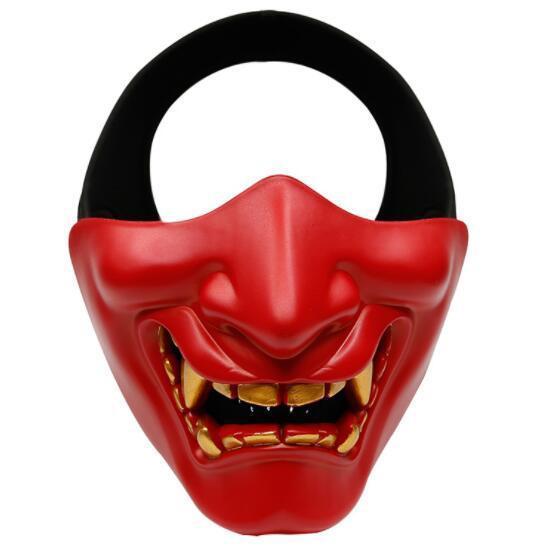 Hannya Half Face Tactical Devil Mask