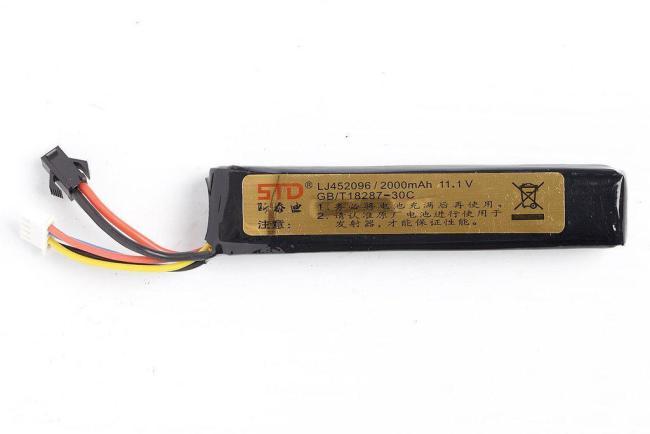 STD 11.1V 2000mAh Lipo Battery