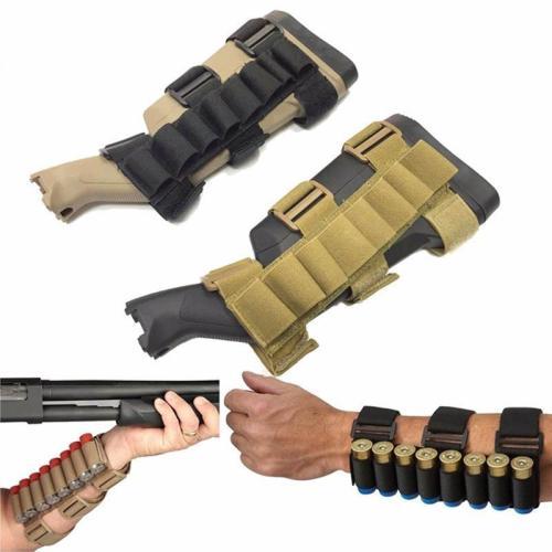 Shotgun Shell Tactical Conveyor 8 rounds Shooters Sleeve Forearm Mag Bag