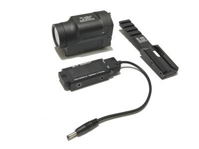 Zenitco AK-SD LED Flashlight w/ Remote Switch Rail Mount