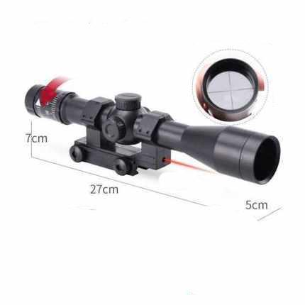 15X Sniper Gel Blaster Scope With Laser