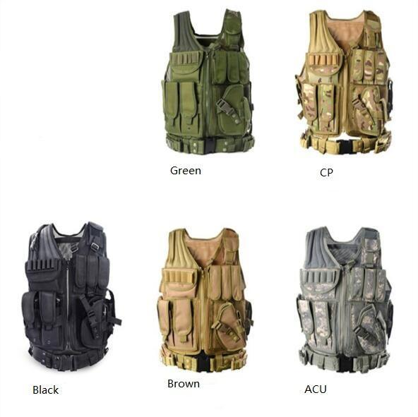 Gel Blaster Tactical Vest for Airsoft, Paintball, CS, Skirmish