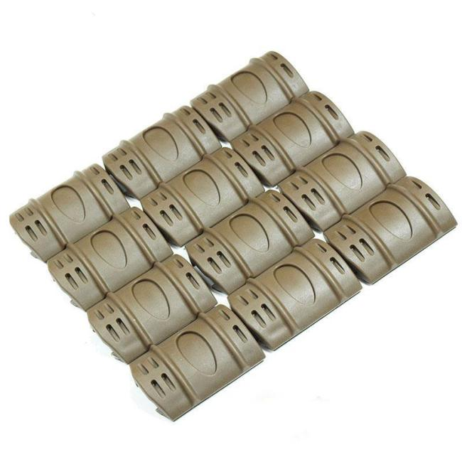 12X Rubber Handguard Rail Protective Cover for M4 M16