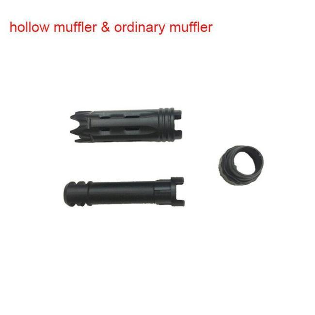 Hollow Hop Up Muffler for XYL AK, JM Gen1/3, Yitai Aug