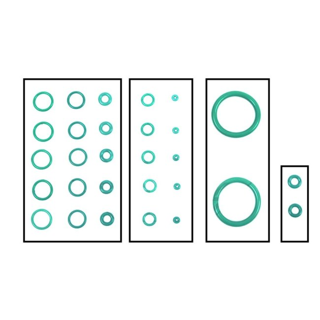 Magazine Fluorine Rubber O-Ring Set for Kublai P1 P1s P4