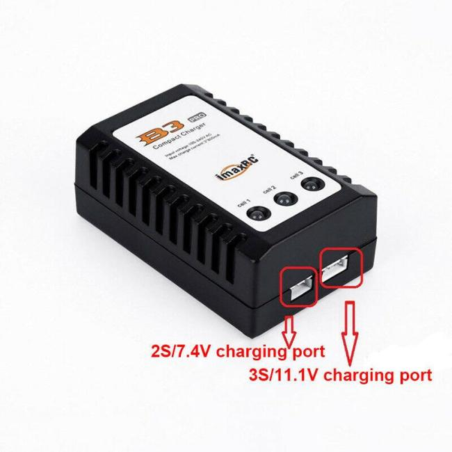 B3 Balance Charger for 11.1V 7.4V Lipo Battery