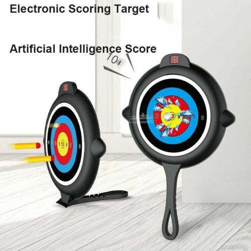 Automatic Reset Electronic Voice Report Scoring Target