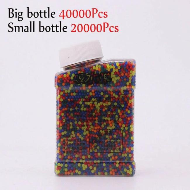 60,000Pcs 9-11MM Coloured Gel Balls