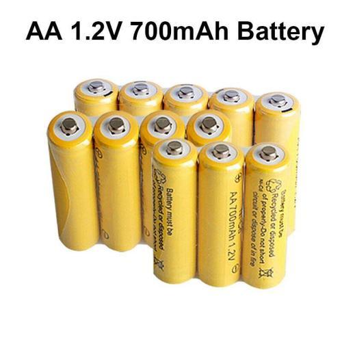 HJ 1.2V 700mAh Ni-cd Rechargeable AA Battery Cell