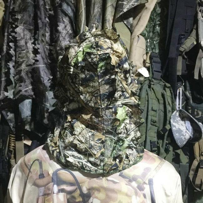 Camo Full Face Tactical Mask Windproof Multi-use