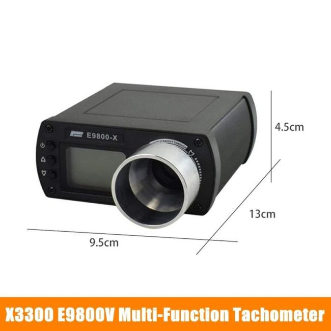 X3300 E9800V Multifunctional Tachometer Tactical Speed Tester Chronograph