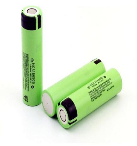 Panasonic NCR18650B Li-ion Battery