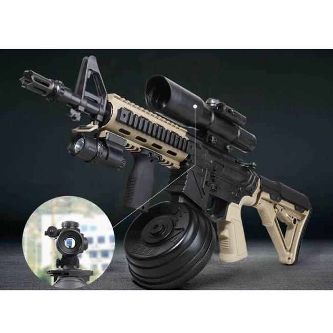 HeE M4 Punisher V2 Drum Gel Blaster (EU Stock)
