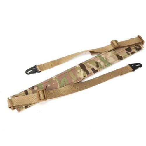 Tactical Rifle Padded Strap Double Point Heavy Duty Sling