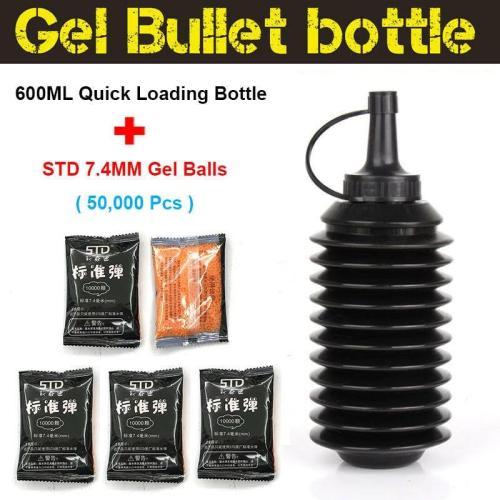 7.4MM STD Gel Balls with Bullet Bottle