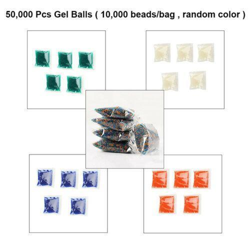 10,000PCS 7-8mm/9-11mm/11-13mm Gel Balls