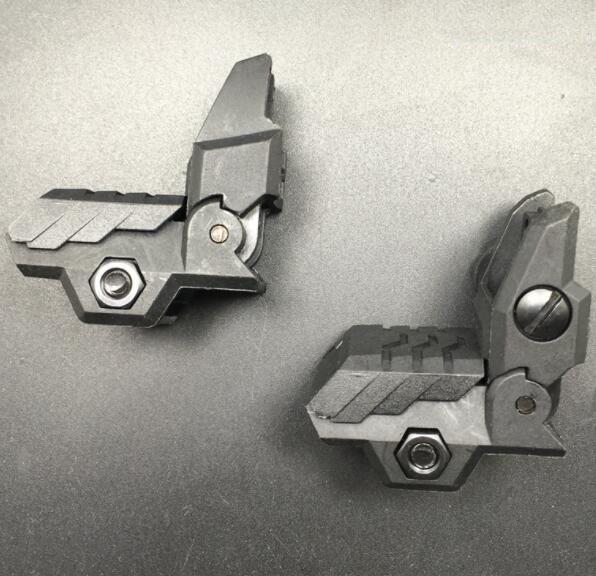 MGP CQB Nylon Front & Rear Flip Up Sights