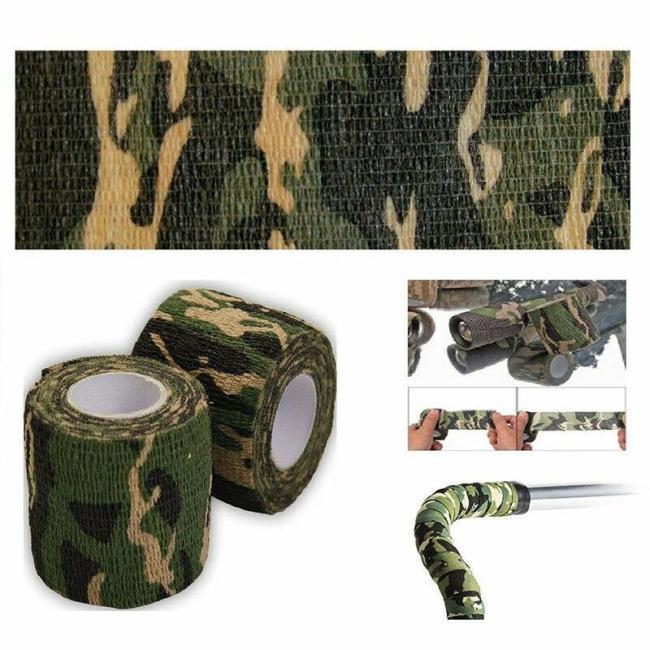 Camo Adhesive Cloth Tape