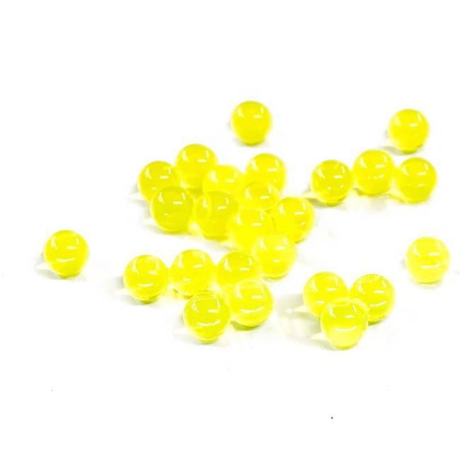 Heavier Hardened Yellow Milky White Gel Balls V2