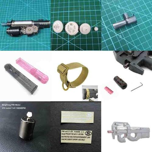 Bingfeng BF P90 Gears Accessories Magazines