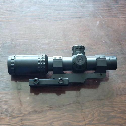 8X Red & Green Dot Magnifier Sight Scope