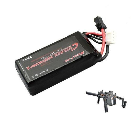 LeHui Vector V2 11.1V 1000/1200mAh Lipo Battery