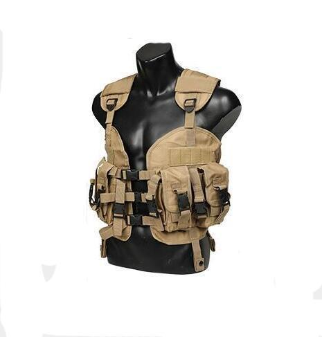 Seal Tactical Vest with Removable Water Bottle Bag