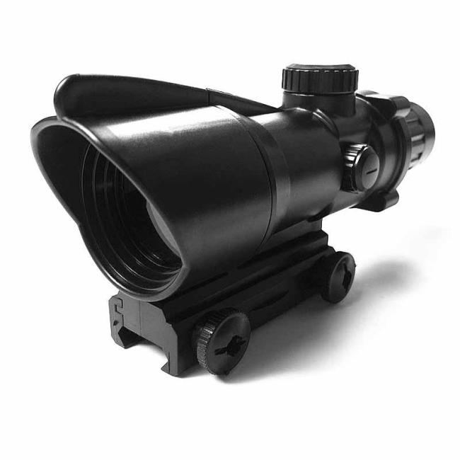 4x Magnifier Small Conch Scope Sight