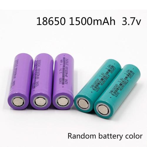 18650 1500mAh 3.7v lithium battery
