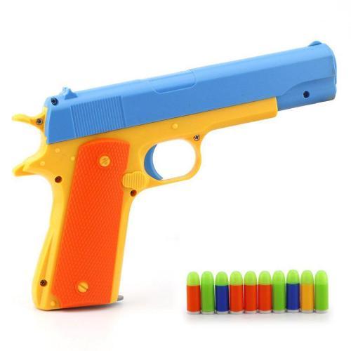 JiaYi Colt 1911 Soft Bullets Toy Gun