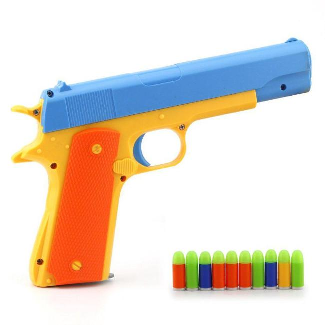 JiaYi Colt 1911 Toy Gun with Soft Bullets