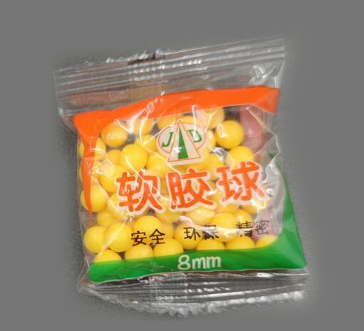 7-8mm Soft Rubber Ball Bullets
