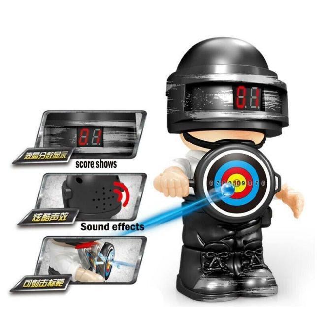 PUBG Doll Electric Scoring Target