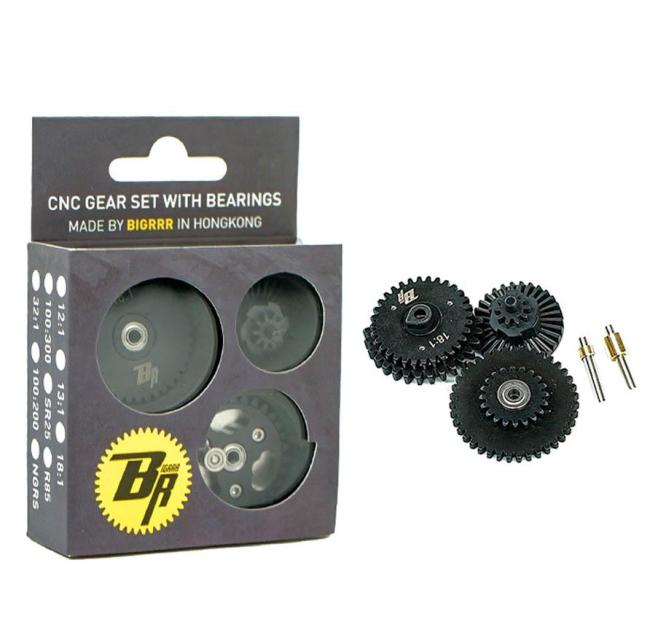 BigRRR CNC Gear Set with Integrated Bearings