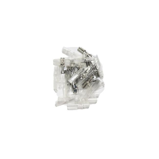 2Pcs/set 460 470 480 Motor Positive Negative Pole Silver Plated