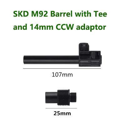 SKD M92 Beretta 90 Two Metal Barrel T-piece