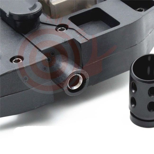 BF P90 Metal Tube with T-piece