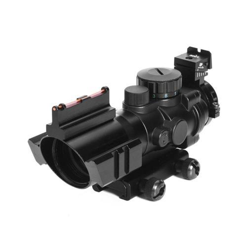 4x32 Acog Riflescope w/ Fiber Optic Sight