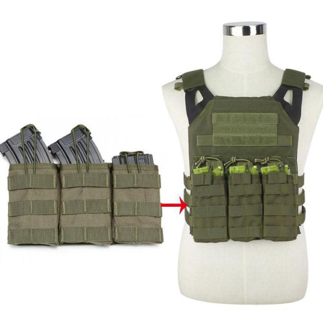 1000D Nylon Triple Magazine Tactical Pouch Mag Holder