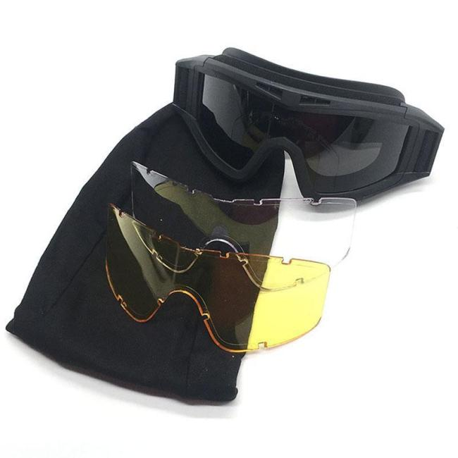 Tactical Goggles Face Eye Protection For Gel Blaster Skirmish
