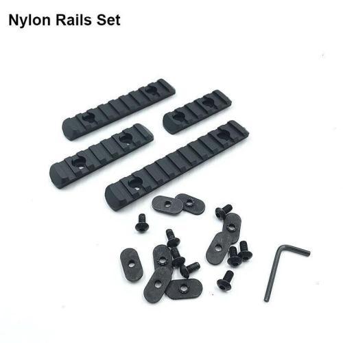 JM J10 Nylon/Metal Rails Set