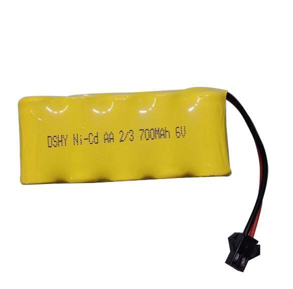 AA2/3 6v 700mah Ni-cd Battery